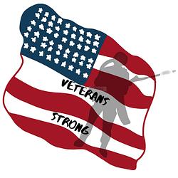 Veteran Strong USA Flag